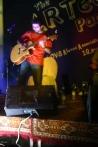 Sherayar sets the bluesy tempo for the evening